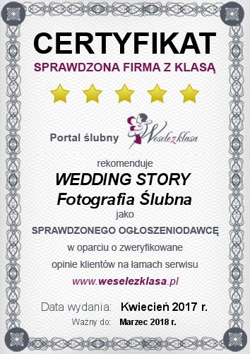 certyfikat_weddingstory