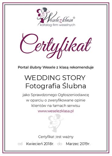 certyfikat_weddingstory_WESELE_Z_KLASA_2018-2019
